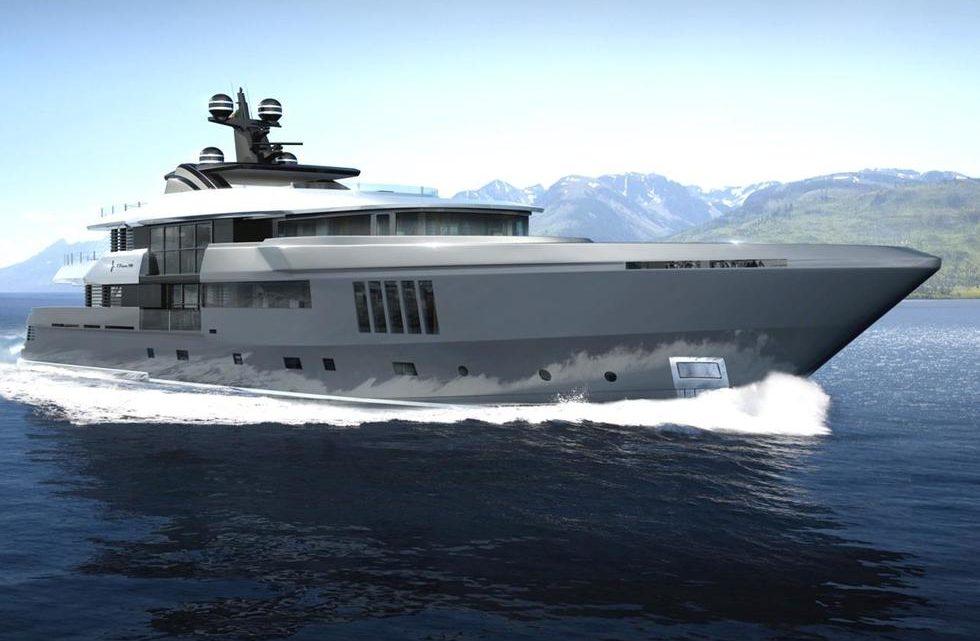 "Продажа яхты ADMIRAL C-FORCE 50 Meters Tri-deck ""Steel"""