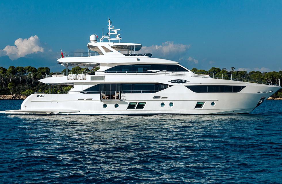 Продажа яхты Majesty 110